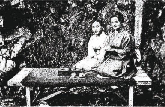 宣教師夫人の熊本訪問