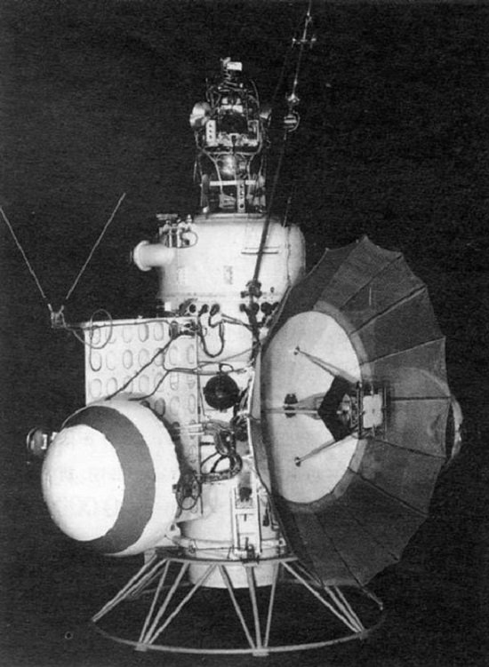 In the early 1960s, the Soviets launched Mars 1, a Soviet interplanetary station. Source: NASA