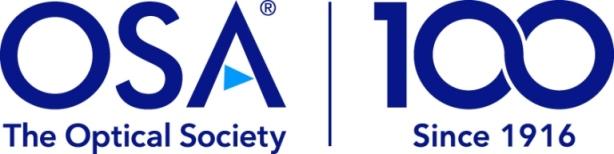 OSA, Optical Society, 光学会,光学