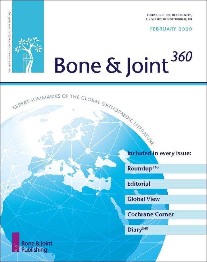 Bone & Joint 360の表紙