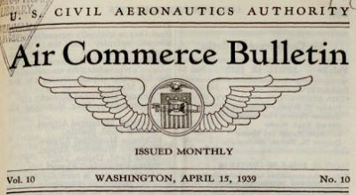 Air Commerce Bulletin