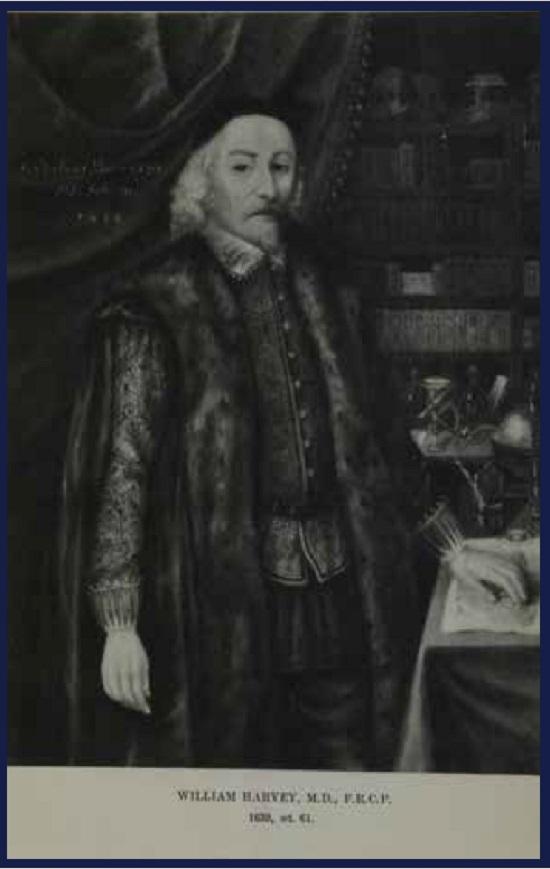 Dr. William Harveya dn St. Bartholomew's Hospital