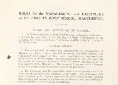  St. Joseph's Boy's School