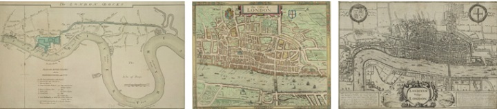 Crace Collection of Maps of London
