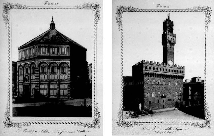 フラテッリ・アリナーリが撮影した1870年頃のフィレンツェ