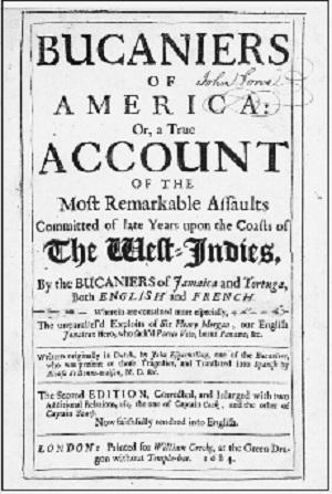 アメリカのバッカニアの歴史
