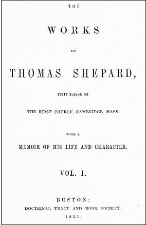 トマス・シェパード『著作集』