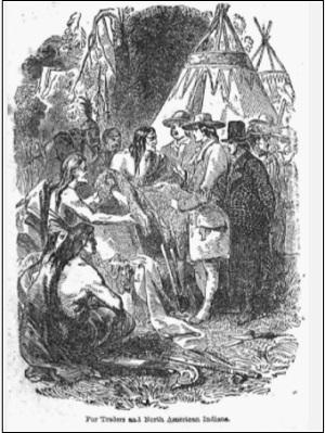 北米インディアンの風習、慣習、状態に関する書簡と覚書