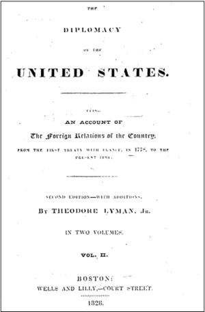 合衆国の外交