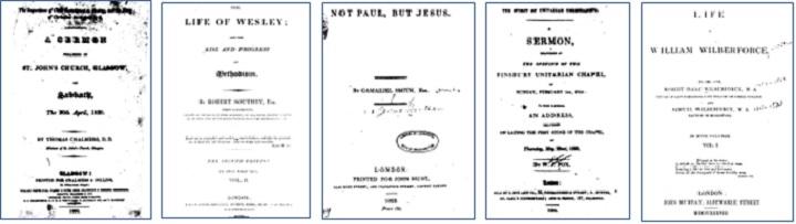19世紀イギリスの神学と教会関係文献コレクション1