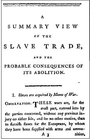 アフリカ奴隷貿易に関する考察
