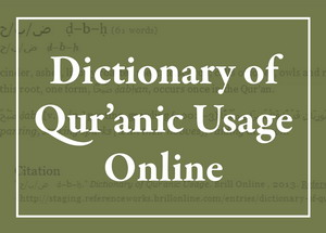 Dictionary of Qur'anic Usage