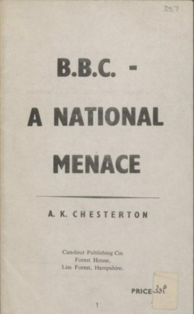 Fascist and Anti-Fascist Booklets