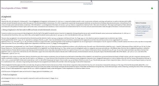 Encyclopaedia of Islam Online2
