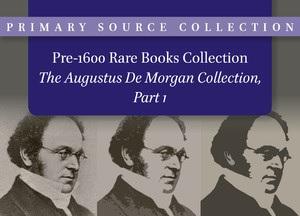 Augustus De Morgan Collection