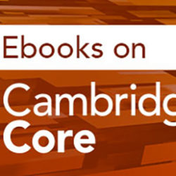 CUP_Ebooks on Cambridge Core