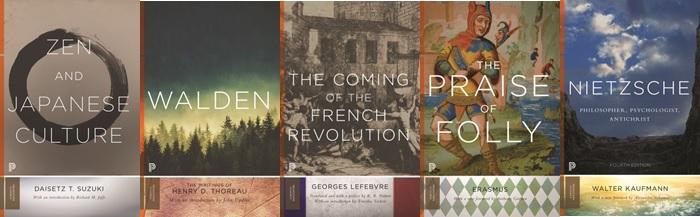 Princeton Classics表紙サンプル