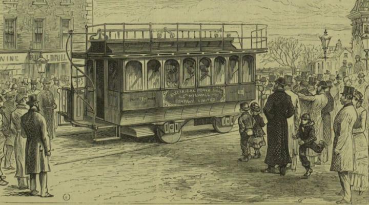 電気路面電車