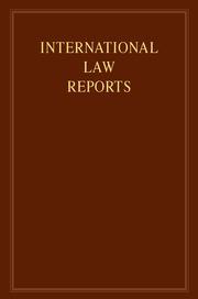 Cambridge University PressのInternational Law Reports