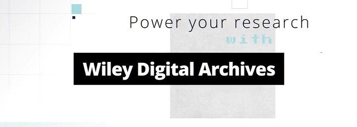 Wiley Digital Archives