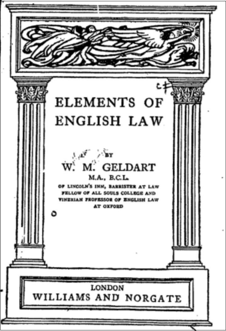 イギリス-イギリス法全般