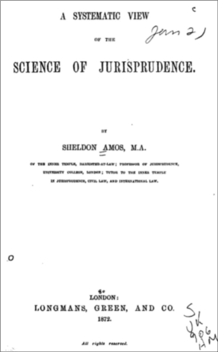 イギリス-法理学