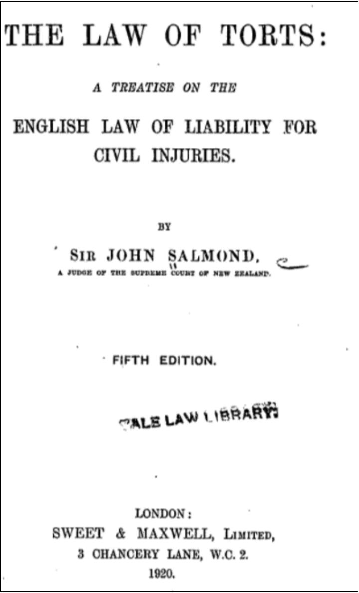 イギリス-不法行為法