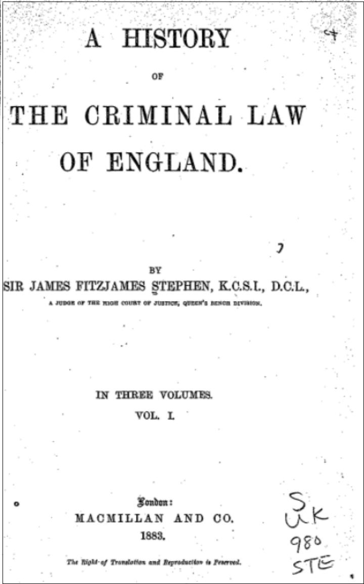 イギリス-刑事法
