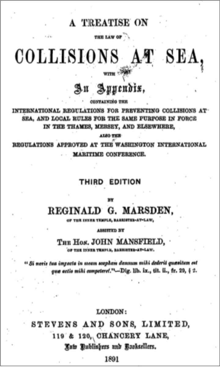 イギリス-海事法