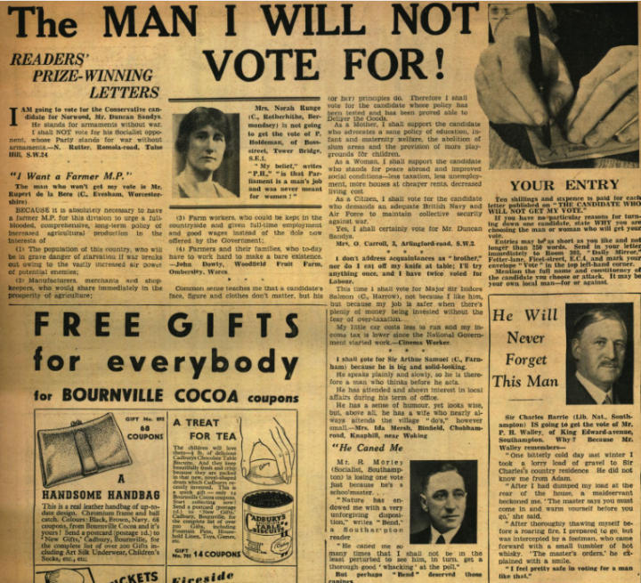 1935 総選挙