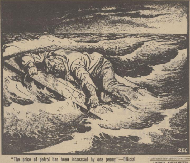 1942 発行停止処分の瀬戸際に追い込まれる