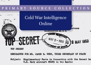 Cold War Intelligence