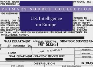 U.S. Intelligence on the Middle East