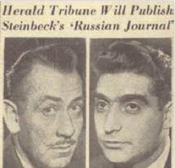 スタインベック、A Russian Journal連載
