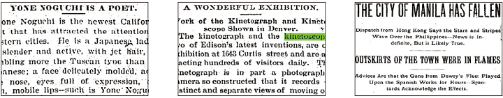 Nineteenth Century U.S. Newspapers 3-10-12