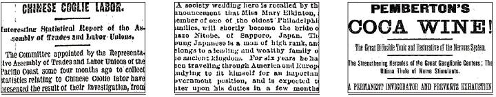 Nineteenth Century U.S. Newspapers 3-4-6