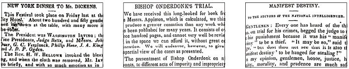 Nineteenth Century U.S. Newspapers 4-6