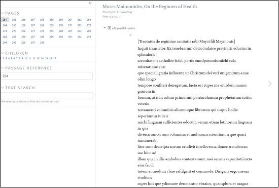 Maimonides' Medical Works Online3