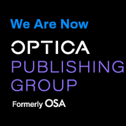 We Are Now Optica Publishing Group